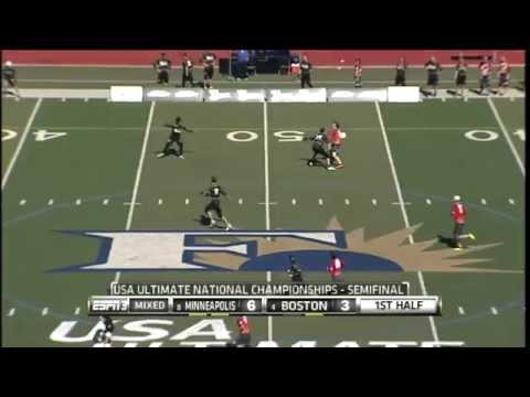 Video Thumbnail: 2013 National Championships, Mixed Semifinal: Boston Ghosts vs. Minneapolis Drag'n Thrust