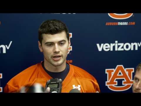 Baylor quarterback transfer Jarrett Stidham talks about his A-Day performance.