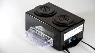 Campanhia Amplificada para chamada de telefone com dupla sinalização sonora e luz intermitente