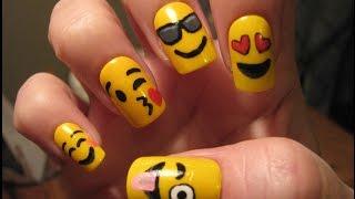 Emoji Nail Art Tutorial