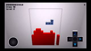 The Blockbuster - iPhone Falling Blocks Game - Gameplay - Simple Mode