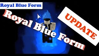 "Complete SSJB ""Royal Blue"" Form 