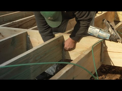 How to Build a Raised Deck