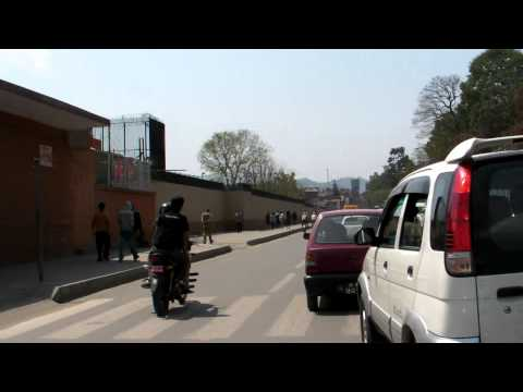 SANY0655.MP4  2011/04/06 To Thamel by Taxi