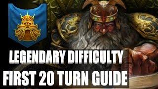 Total War: Warhammer II - Legendary First 20 Turn Guide - Dwarfs