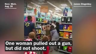 Woman pulls gun in fight over school supplies