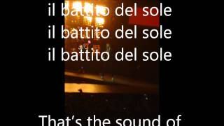 sound of sunshine-Jovanotti ...... con testo