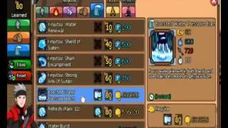 Ninja Saga : lv 80 jutsus all elements