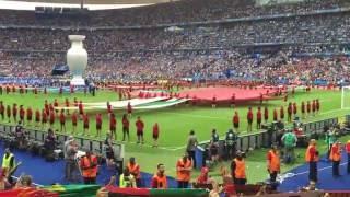 "Final Euro 2016 - Hino Nacional ""A Portuguesa"""