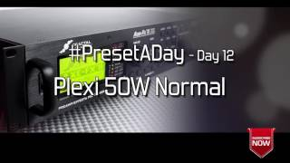 #PresetADay - Plexi 50w Normal - AXE FX II / AX8 Rhythm and Solo Patches
