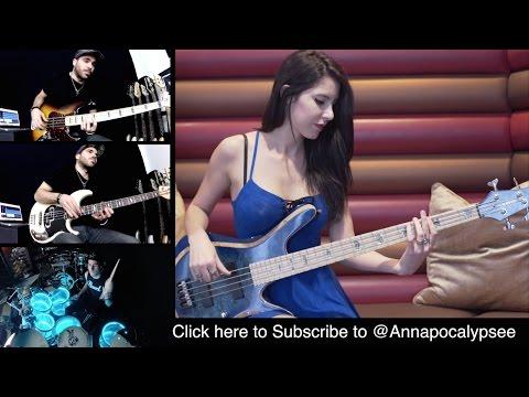 david-guetta-dangerous-bass-drums-cover-with-coop3rdrumm3r-anna-sentina-miki-santamaria