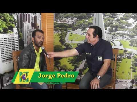 Jorge Pedro no Programa Nossa Terra Nossa Gente com Tom Brasil