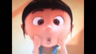 Agnes from Despicable Me Dropping the Beat
