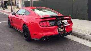 Red 2018 Shelby GT350