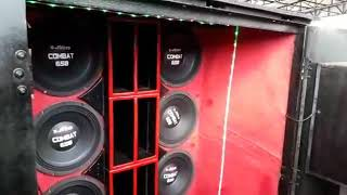Racha de som alto falante r-sound x alto falante 7 drive