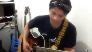 Here for you by firehouse guitar cover