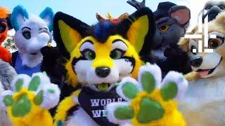 Billie JD Porter Becomes A Furry For A Day | World Of Weird