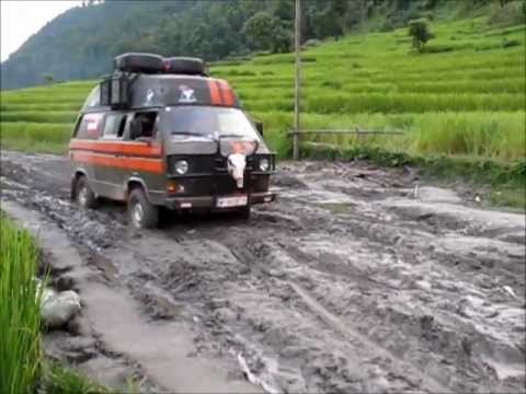 "T3 Syncro ""The Yak"" enjoying the rainy season in Nepal"