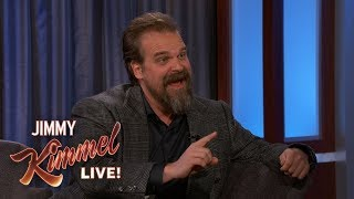 David Harbour Married Fans in His Stranger Things Costume