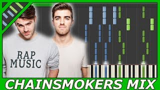 The Chainsmokers Epic Piano Mix! (Synthesia video)