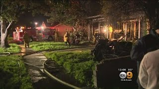 Neighbor Helps Kids Get Out Of Burning South LA Home