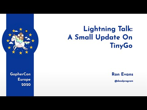 A Small Update On TinyGo