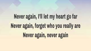 Never Again - Marc Hatem ft. BLING (Lyrics)
