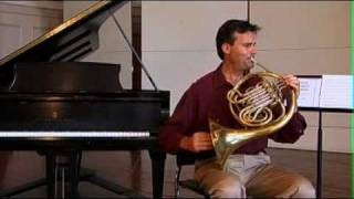 Hand Position in Bell - Video 6/11 - Hornlessons.org