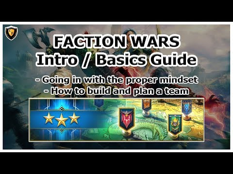 RAID Shadow Legends | Faction Wars Basics Guide