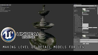 [TUTORIAL] Level of Detail (LOD) in Unreal Engine 4