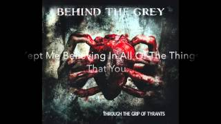 Behind the Grey - Black (Official Lyric Video)