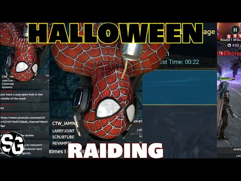 Halloween scary raid time! Are you brave enough?