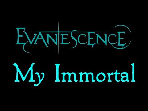 Evanescence-My Immortal Lyrics (Evanescence EP Outtake) Chords ...