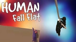 Human Fall Flat Funny Moments - Barney is a Menace!