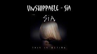 [Lyrics + Vietsub] Unstoppable - Sia