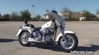 Used 2002 Harley Davidson FatBoy Motorcycles for sale - St. Pete, FL  USA