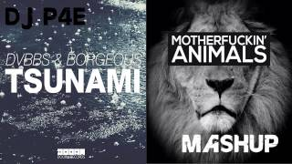 DVBBS vs Martin Garrix (Tsunami vs Animals MASHUP)