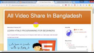 How to Make a free interactive website with Blogspot