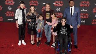 "Speechles Cast ""Star Wars The Last Jedi"" World Premiere Red Carpet"