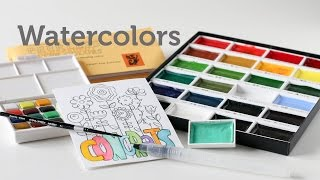 Card Making and Paper Crafting How To: Watercolors