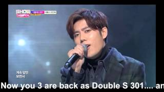 Double S 301 Sorry, I'm Busy cover for Kyu Jong Birthday