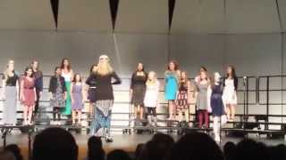 Wilde Lake Ladyes Fayre sings Pitch Perfect Medley