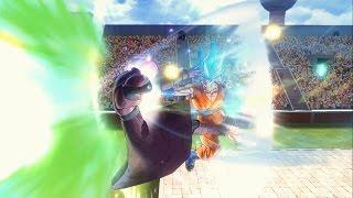 Goku Super Saiyan Blue vs Hit | Dragon Ball Xenoverse 2