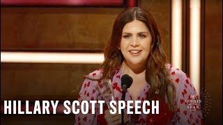 Hillary Scott | 2018 CMT Artists of the Year Acceptance Speech