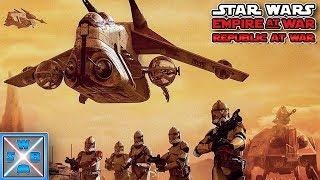 Die Schlacht von Geonosis! - Lets Play Star Wars Empire at War - Republic at War Mod #16