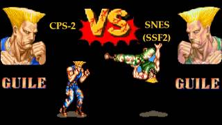 Street Fighter II Music: Guile's Theme Mash-up (CPS2-SNES)