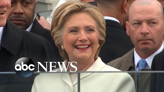 Hillary Clinton on Donald Trump's Inauguration Day
