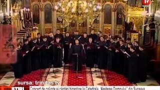 Concert de colinde si cantari bizantine
