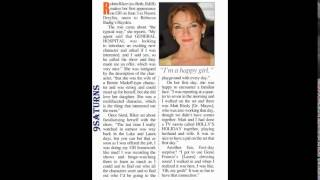 GH INTERVIEW Robin Riker As Hayden's Mum General Hospital Naomi Laura Luke Promo Preview 5-27-16