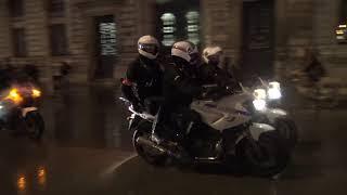 Gilets jaunes : Débordements pendant la Nuit Jaune (26 janvier 2019, Paris)